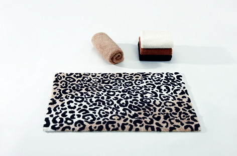 Leopard Bath Rug By Abyss Habidecor